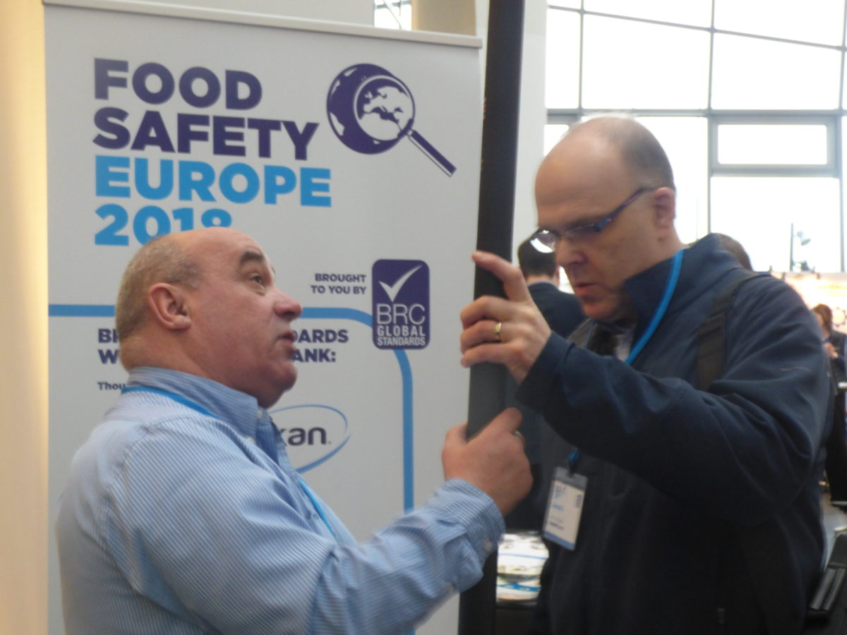 BRC Food Safety Europe 2018